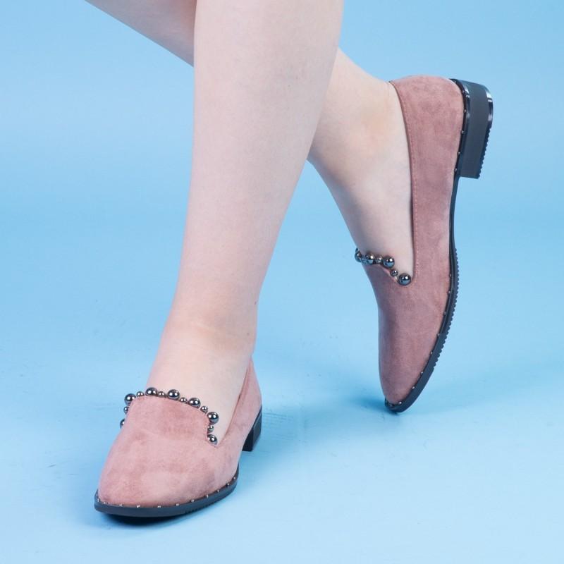 Pantofi Casual Dama XD101 Pink Mei