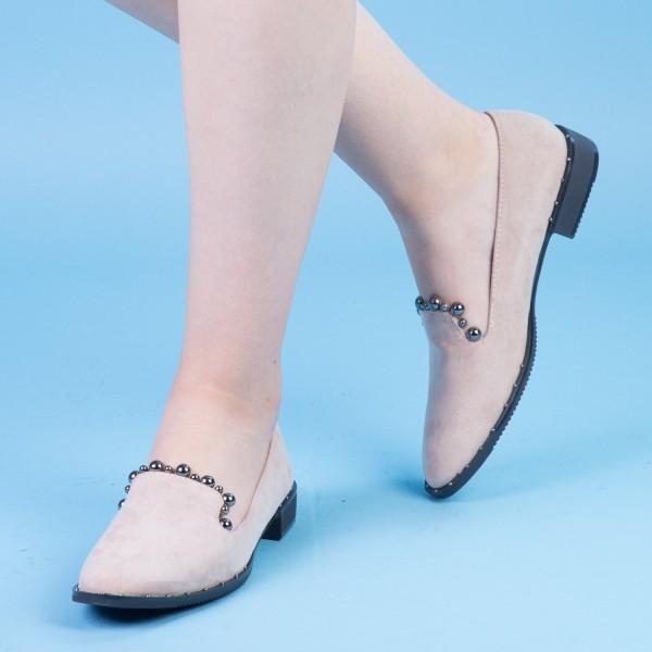Pantofi Casual Dama XD101 Beige Mei