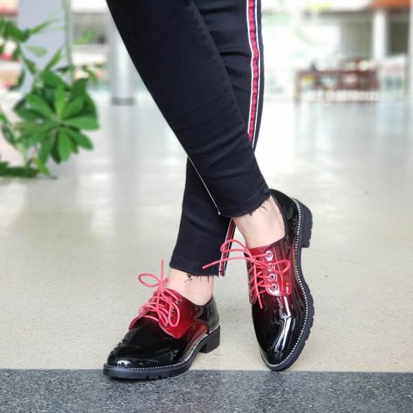 Pantofi Casual Dama GY2 Winered Mei