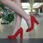 Pantofi cu Toc XKK130A Red Mei