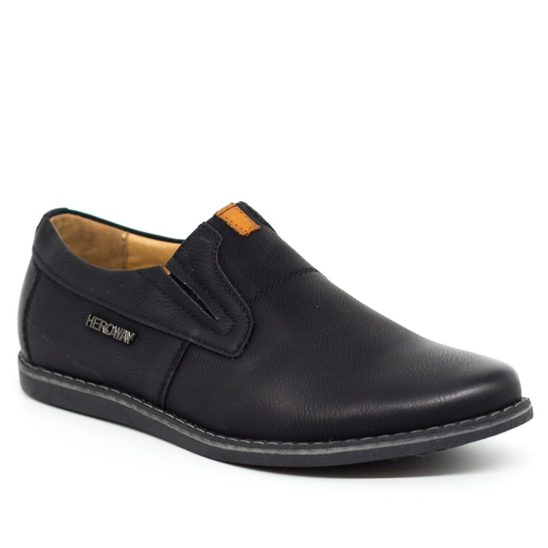 Pantofi Casual Dama T501 Black Heroway