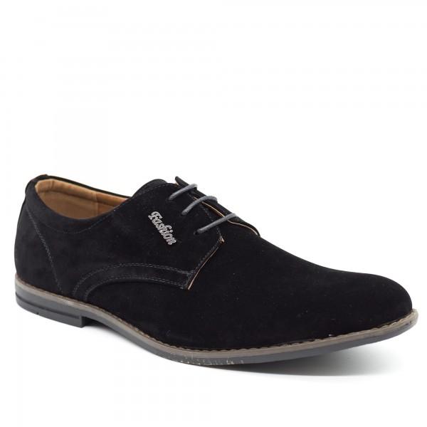 Pantofi Barbati 657 Black OUGE Fashion