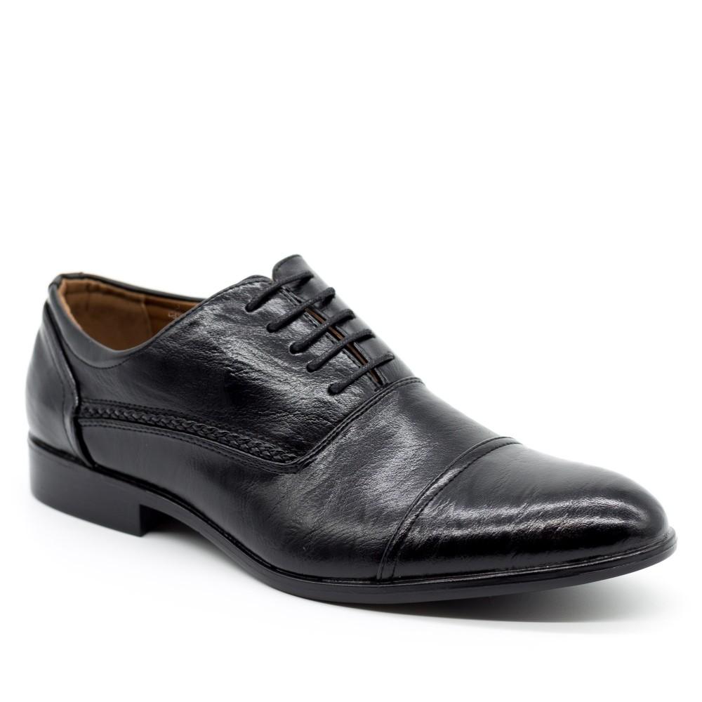 Pantofi Barbati 632 Black OUGE Fashion