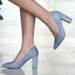 Pantofi cu Toc WT52C Pewter Mei