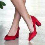 Pantofi cu Toc WT52 Red Mei