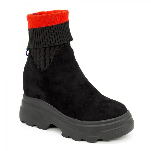 Pantofi Sport cu Platforma SJN211 Black Mei
