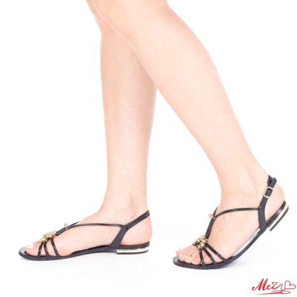 Sandale Dama OL206 Black Mei
