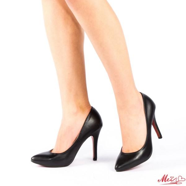 Pantofi cu Toc OLMD1 Black Mei