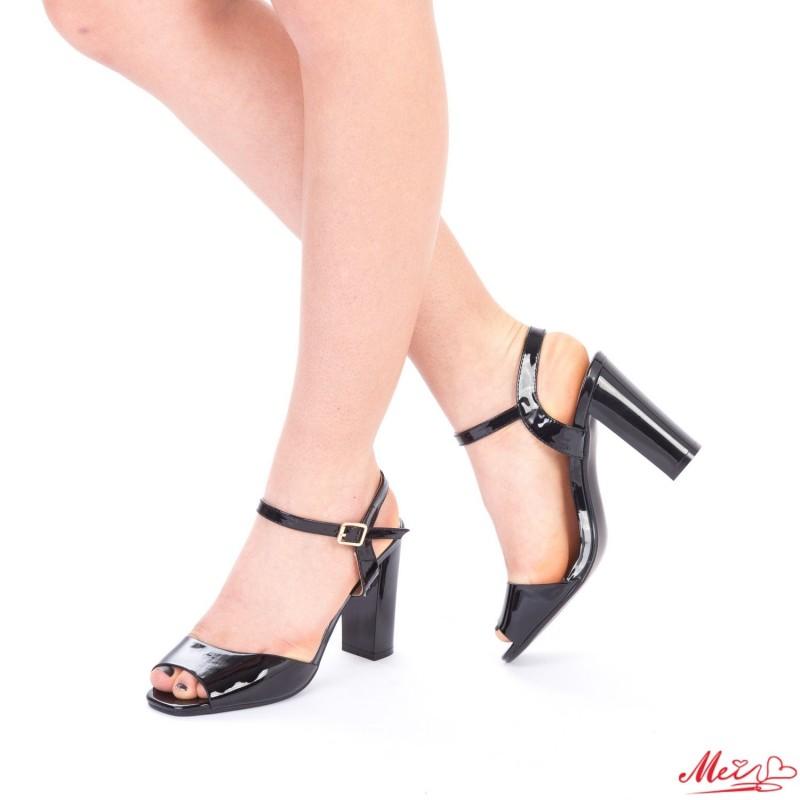 Sandale Dama cu Toc OS06 Black Mei