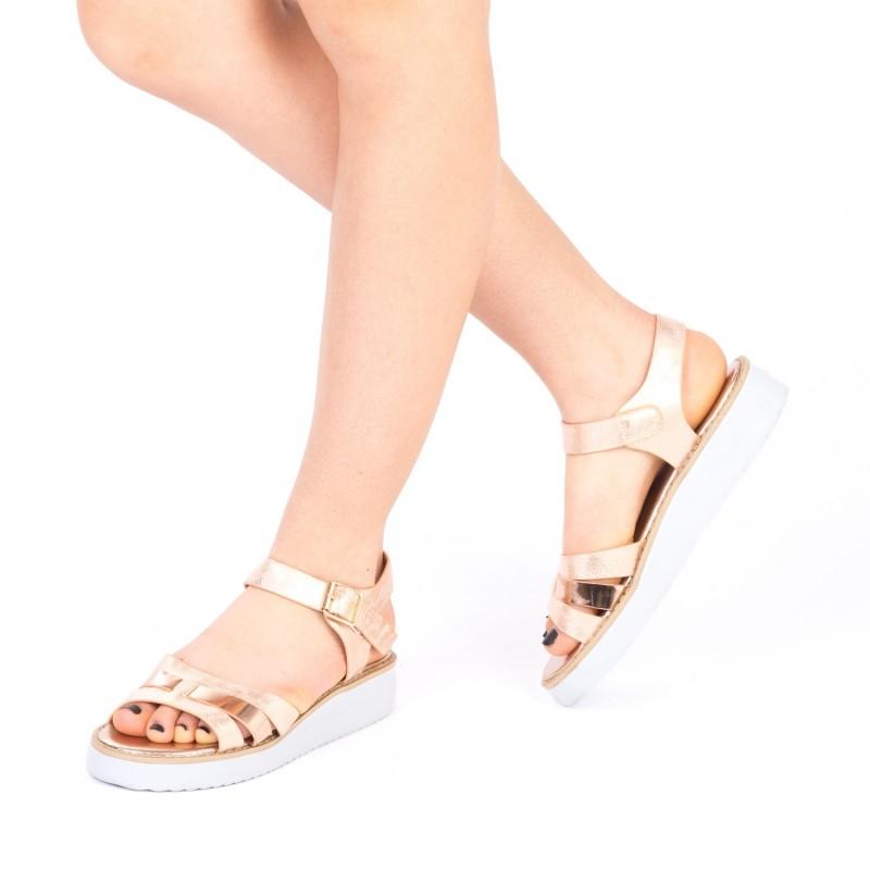 Sandale Dama QZL177A Champagne Mei