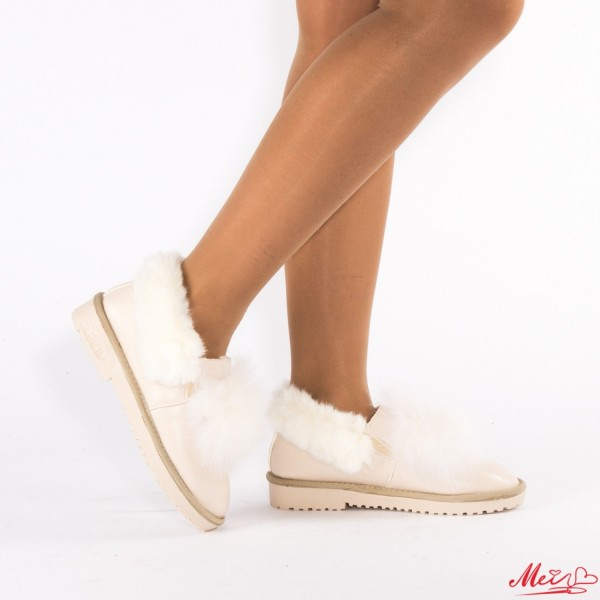 Papuci Dama TJ18 Beige Mei