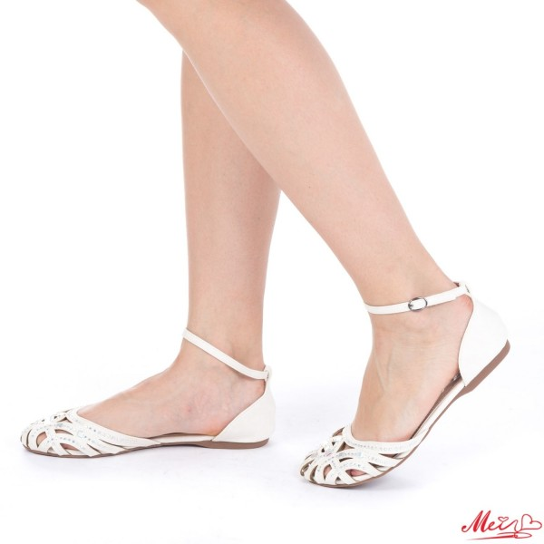 Sandale Dama WH978 White Mei