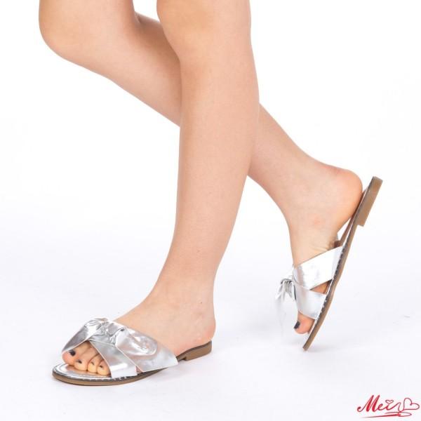 Papuci Dama WS87 Silver Mei