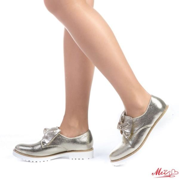 Pantofi Casual Dama WT12 Gold Mei