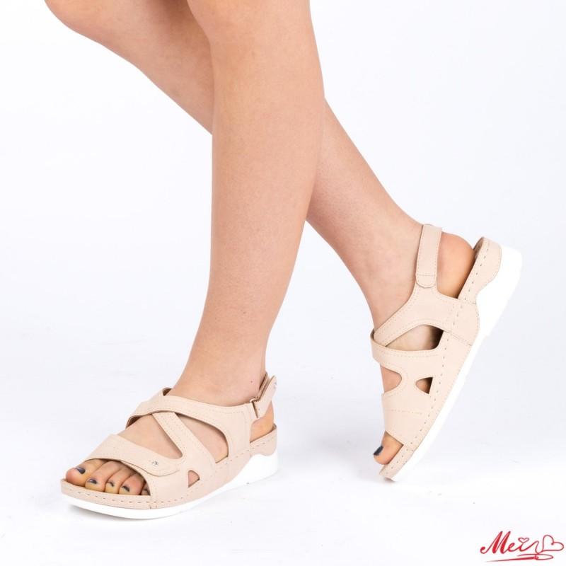 Sandale Dama XD79 Beige Mei