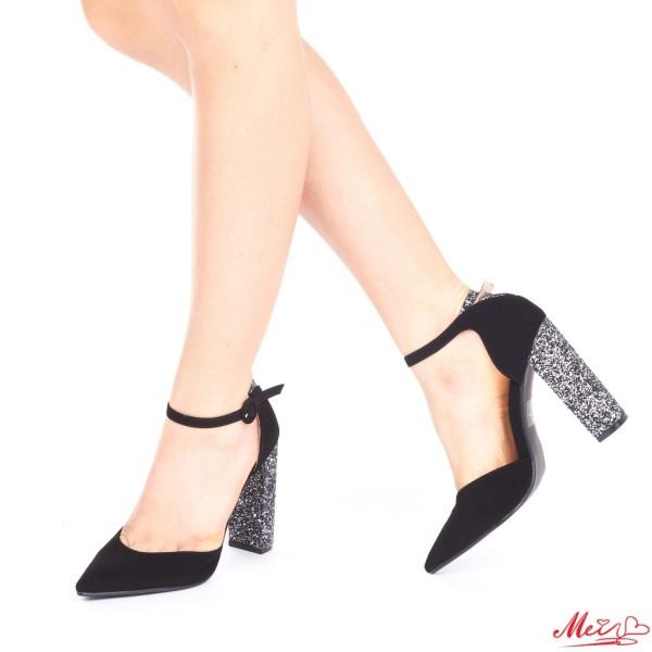 Pantofi cu Toc XD85 Guncolor Mei