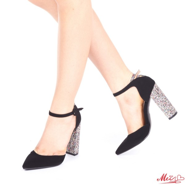 Pantofi cu Toc XD85 Gold Mei