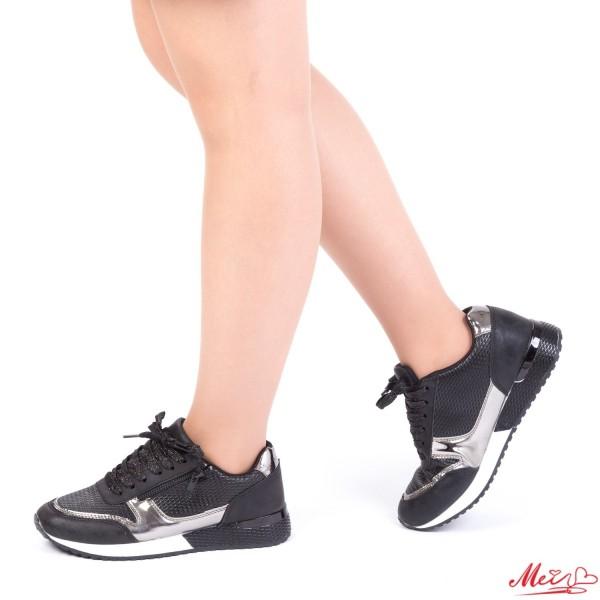 Pantofi Sport Dama 1727906A# Black Mei