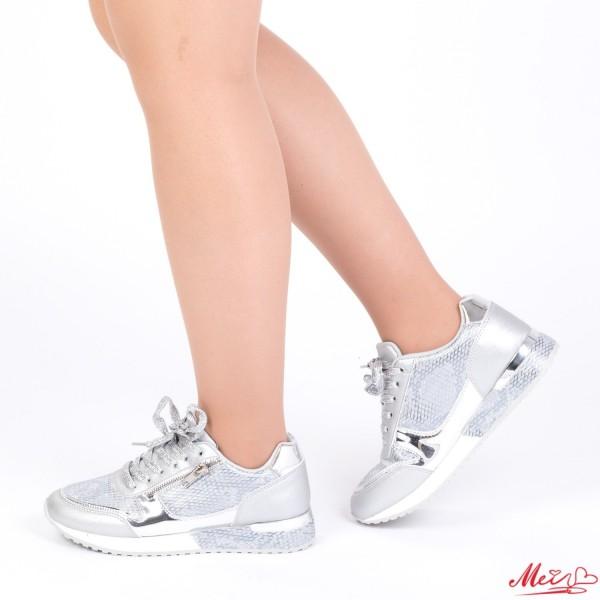 Pantofi Sport Dama 1727906A# Silver Mei