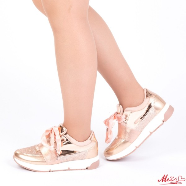 Pantofi Sport Dama 1729901B# Rose Gold Mei