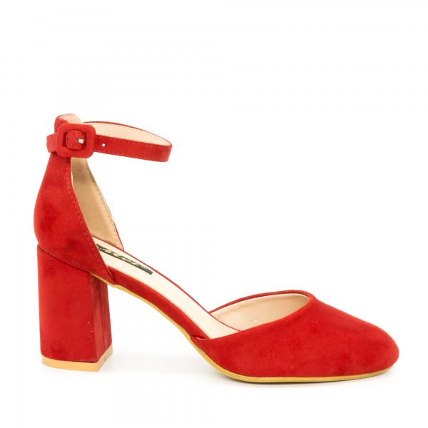 Pantofi cu Toc XD117 Red Mei