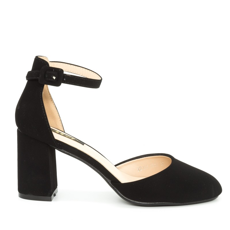 Pantofi cu Toc XD117 Black Mei