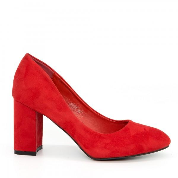 Pantofi cu Toc GE27 Red Mei