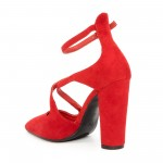 Pantofi cu Toc GE18 Red Mei