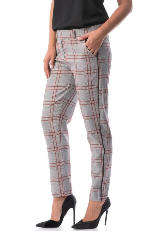 Pantaloni Dama CARO 5976 Rosu Adrom
