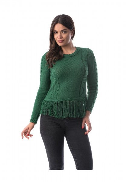 Pulover Dama 1102 Verde Adrom