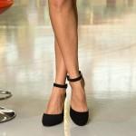 Pantofi cu Toc XKK151 Black Mei
