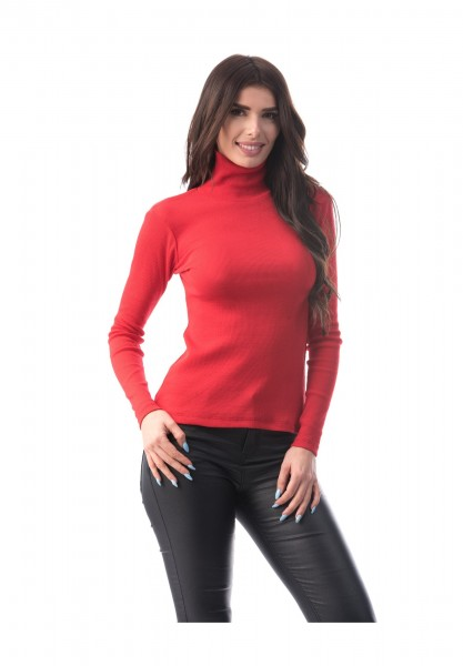 Bluza Dama BLUZA 6127 Rosu (207) Adrom