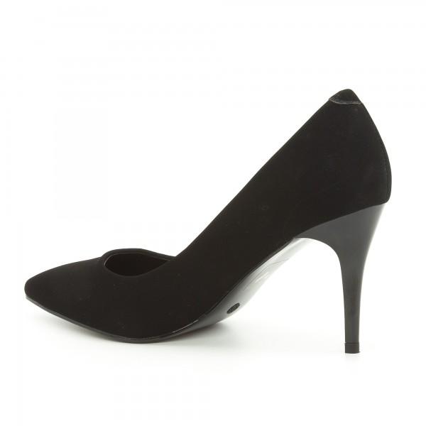 Pantofi cu Toc LLH16 Black Mei