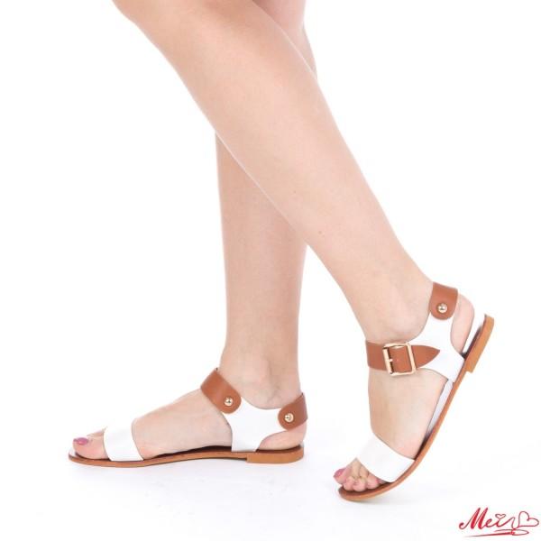 Sandale Dama AF09 White Mei