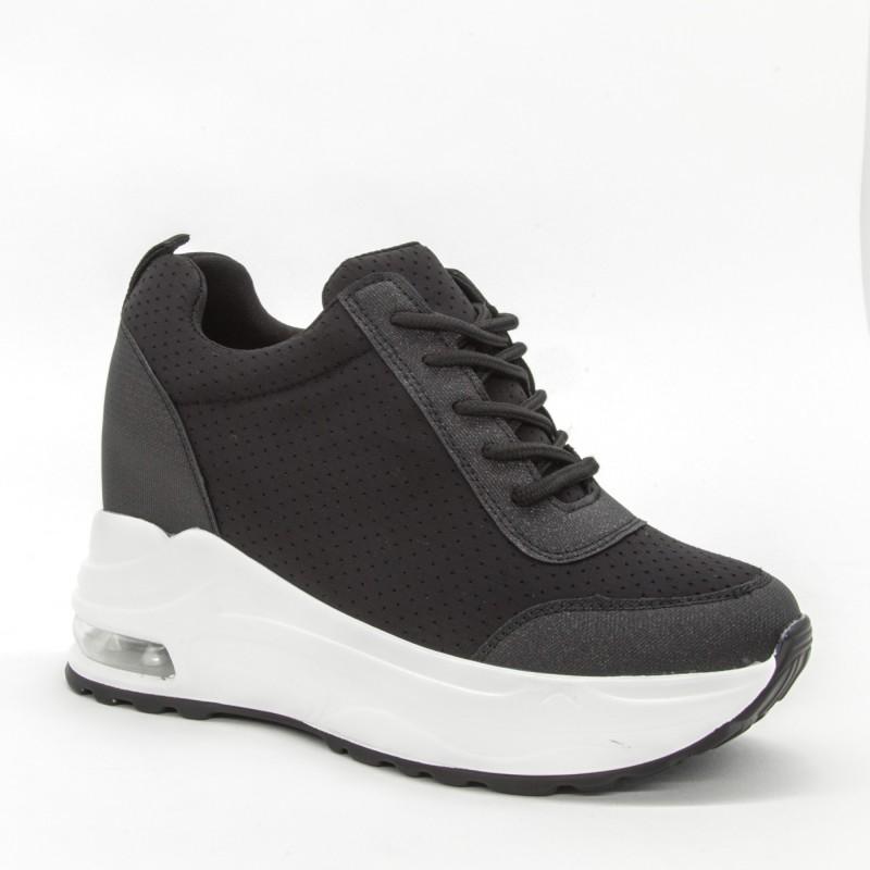 Pantofi Sport cu Platforma Dama SZ197 Black Mei