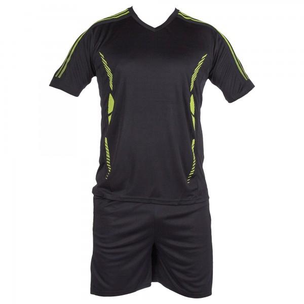 Compleu Fotbal Copii TC02 Negru Sport Wear
