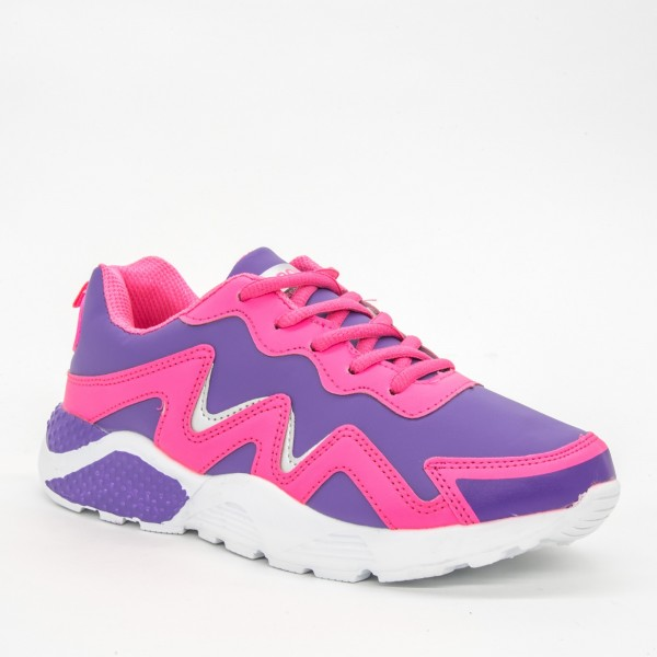 Pantofi Sport Dama C8 Purple-Pink Sport Fashion