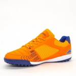 Ghete Fotbal Baieti BX8740-2 Orange-Blue Sky Wing
