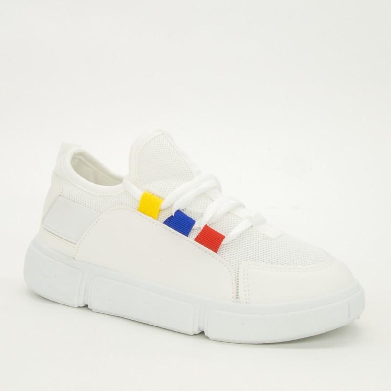 Pantofi Sport Dama 2018-9 White Renda