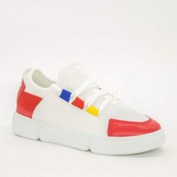 Pantofi Sport Dama 2018-9 Red Renda