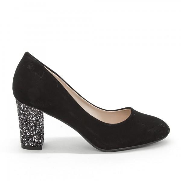 Pantofi cu Toc XD126A Guncolor Mei