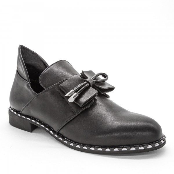 Pantofi Casual Dama W40-19A Black Lady Star