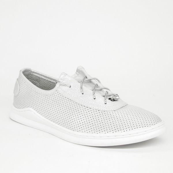 Pantofi Casual Dama 2018-8 White Lady Star