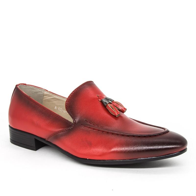 Pantofi Baieti A02-6 Red Oskon