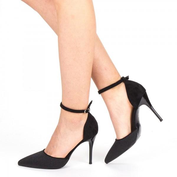 Pantofi cu Toc GE32 Black Mei