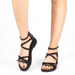 Sandale Dama QZL228 Black Mei