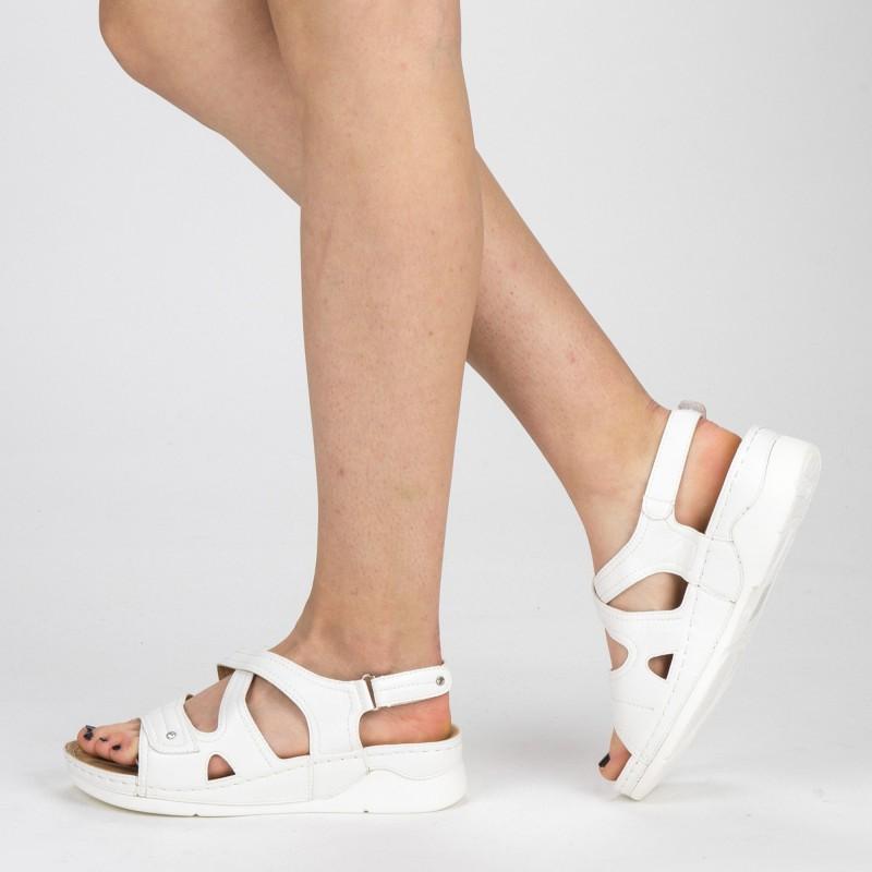 Sandale Dama XD79 White Mei