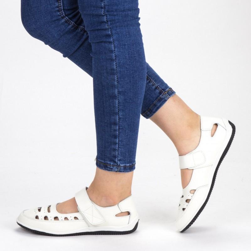 Pantofi Casual Dama NB7 White X-Mmm