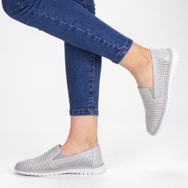 Pantofi Casual Dama WKH4556 Grey X-Mmm