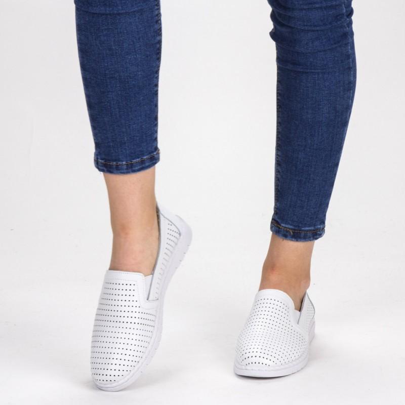 Pantofi Casual Dama WKH4556 White X-Mmm